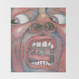 In the Court of the Crimson King Expanded Edition by King Crimson Throw Blanket