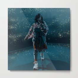 Billie Metal Print