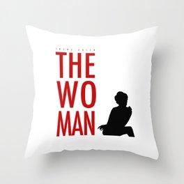 Irene Adler, The Woman - Sherlock Holmes Throw Pillow