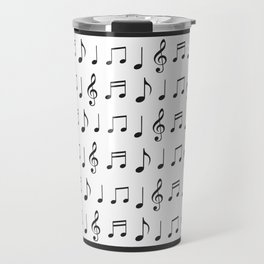 Music is life. Fill your life with music vibes all time round. Travel Mug