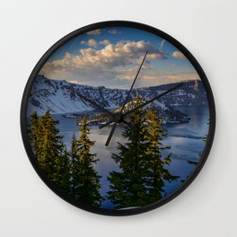 Crater Lake - Spring Wall Clock