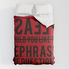 Please Comforters