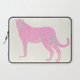 PINK STAR CHEETAH Laptop Sleeve