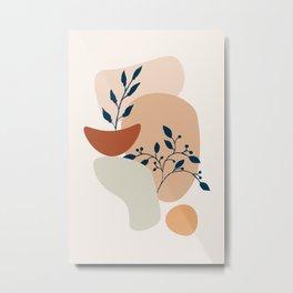 Plant From Inside #minimal Metal Print
