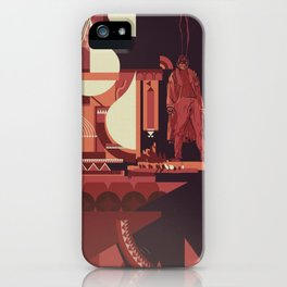 SKINWALKER Art 1 iPhone Case