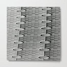 Sur le Ponton Metal Print