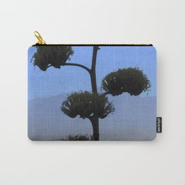Watercolor Flower, Agave 01, Ventana Canyon, Arizona Carry-All Pouch