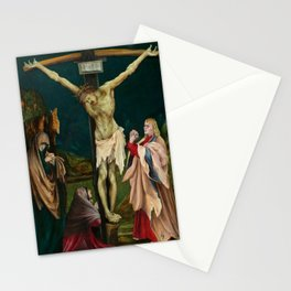 The Small Crucifixion by Matthias Grünewald Stationery Cards
