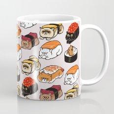 Sushi Persian Cat Coffee Mug