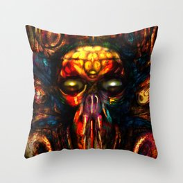 DreamMachne II Throw Pillow