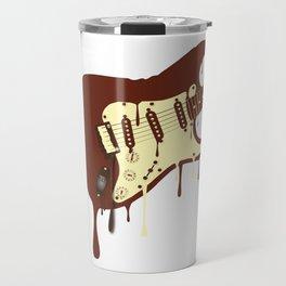 Melting Chocolate Guitar Travel Mug