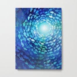 Aquatics Metal Print