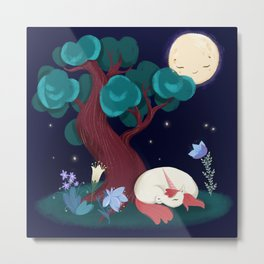 Bedtime Sweet Dreams For All Magical Creatures Metal Print