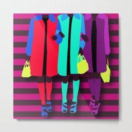 sisterhood of the traveling bag Metal Print
