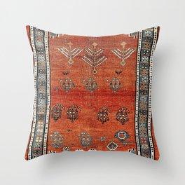 Bakhshaish Azerbaijan Northwest Persian Carpet Print Throw Pillow