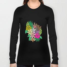 Flowers in Garden Long Sleeve T-shirt