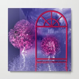 fancy trees for you -1- Metal Print