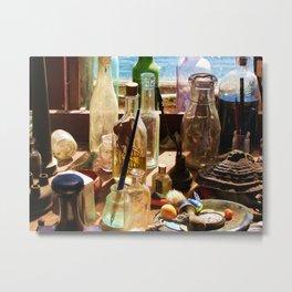 Bottles and Sunlight Metal Print