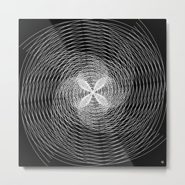 Spiral/ Metal Print