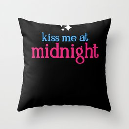 Kiss Me At Midnight - Gift Throw Pillow