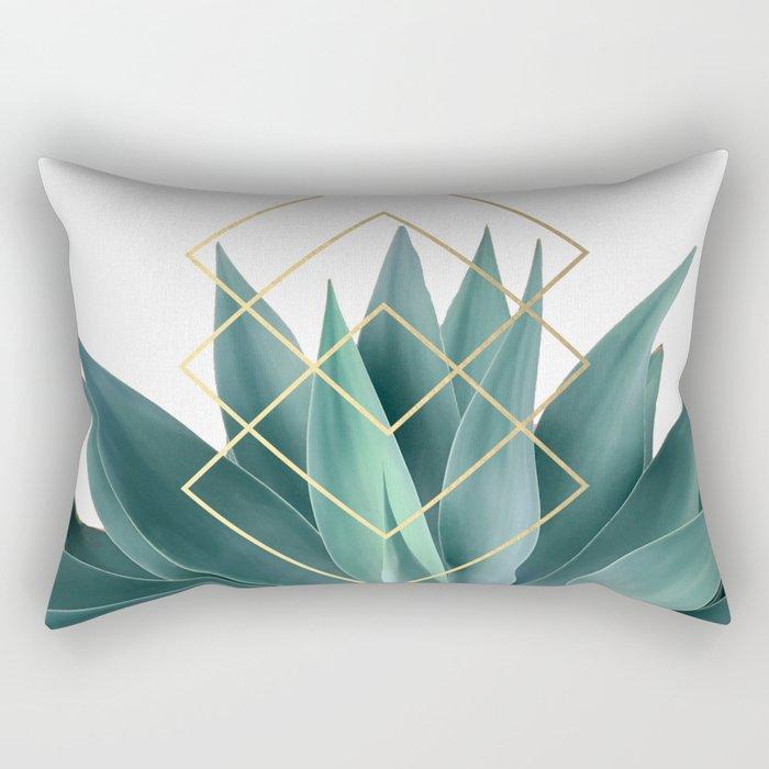 Agave geometrics Rectangular Pillow