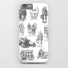 Fantasy Houses iPhone Case