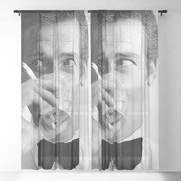 Roger Moore Cool Sheer Curtain