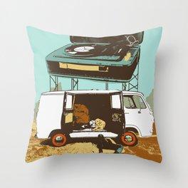 BROKEDOWN Throw Pillow