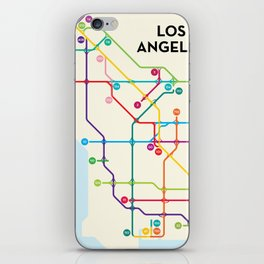 Los Angeles Freeway System iPhone Skin