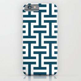 Simple geometric pattern iPhone Case