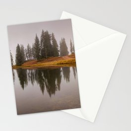Colorado Fall Colors Panorama at Crested Butte Mountain Resort. Stationery Cards