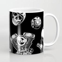 Cafe Racer Pattern Coffee Mug