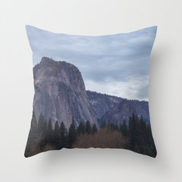 Middle Cathedral Rock Throw Pillow