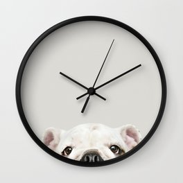 PUPPY FACE Wall Clock