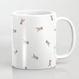 Baby Rabbit with Flower Crown Coffee Mug
