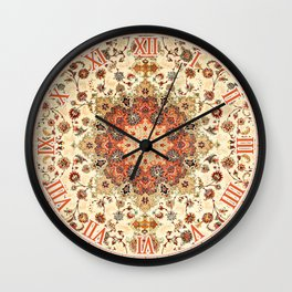 Bohemian Traditional Moroccan Style Artwork Wall Clock