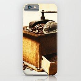 coffee grinder 5 iPhone Case