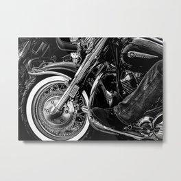 Yamaha ROAD STAR Motorcycle Metal Print