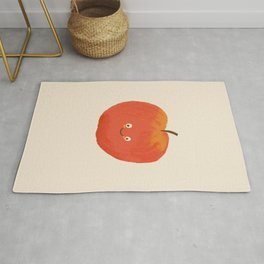 Kawaii Apple Rug