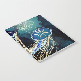Metallic Jellyfish III Notebook