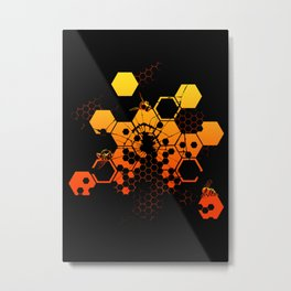 Existential Threat Metal Print