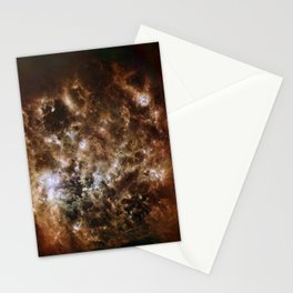 1712. Infrared Portrait of the Large Magellanic Cloud  Stationery Cards