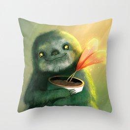 Cute Sloth Throw Pillow