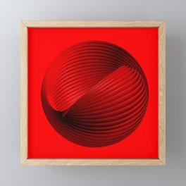 abstract art Framed Mini Art Print