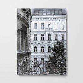 Streets of Vienna Metal Print
