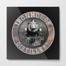 Ironhorse Distillery Metal Print