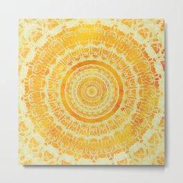 Sun Mandala 4 Metal Print