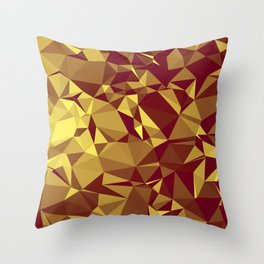 Low polly1 Throw Pillow