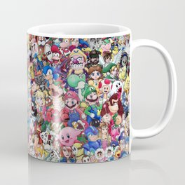 Nintendo Tribute Kaffeebecher