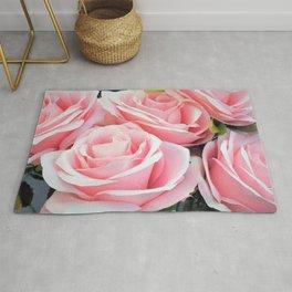 Pink Bouquet Rug